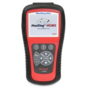 MaxiDiag Elite MD802 For 4 System Engine Transmission ABS and Airbag Code Scanner