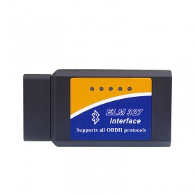 Super V1.5 WIFI ELM327 OBD2 25K80 For iPhone/Android/PC