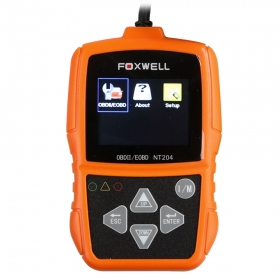 2017 FOXWELL NT204 OBD2 CAN Diagnostic Tool Fault Code Reader