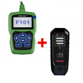2017 New OBDSTAR F101 TOYOTA G Key Programmer With IMMO Reset Tool Plus OBDSTAR RT100 Remote Tester Frequency/Infrared IR