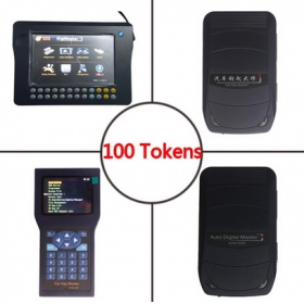 Digimaster 3 Update Tokens 100 Tokens Also For CKM100/CKM200/ADM-300A