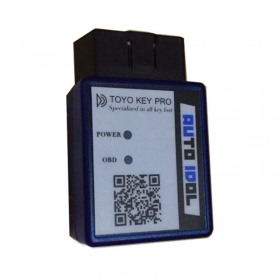 TOYO KEY PRO OBD II on Toyota 40/80/128 BIT (4D, 4D-G, 4D-H) All Key Lost