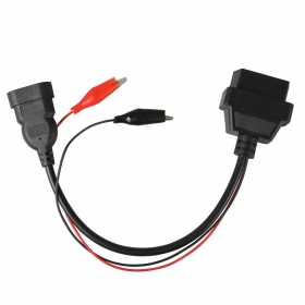 3 Pin to 16 Pin OBD2 OBDII Diagnostic Adapter Cable for Fiat
