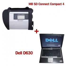 Benz MB SD C4 Connect Compact 4 Plus WIN7 Dell D630 Laptop Install Already
