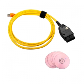 ENET Interface Cable for BMW E-SYS ICOM Coding F-series With Software