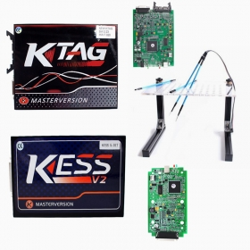 KESS 5.017 +KTAG 7.020 +Led Bdm Frame Support Online No Tokens Limited