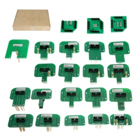 22PCS ECU BDM Probe Adapters Chips Full Set (Denso, Marelli, Bosch, Siemens)
