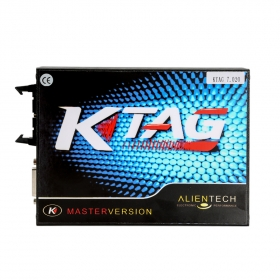 K-Tag Ktag V7.020 Full European Version Support Online No Token Limited ECU Programmer With GPT Cable