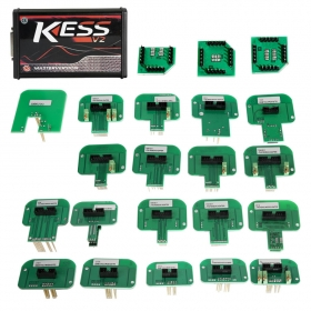 KESS 5.017 Red Pcb EU Full Set Plus 22pcs KESS BDM Probe Adapters Chips