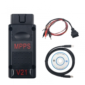 MPPS V21 MAIN + TRICORE + MULTIBOOT New MPPS V21 With Breakout Tricore Cable ECU Chip OBD2 Diagnostic Tool