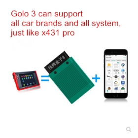Launch X431 Easydiag Golo3 Replacement Golo 3 Pro Technician Box Car Code Reader Bluetooth OBD2 Android System Auto Diagnostic Tool
