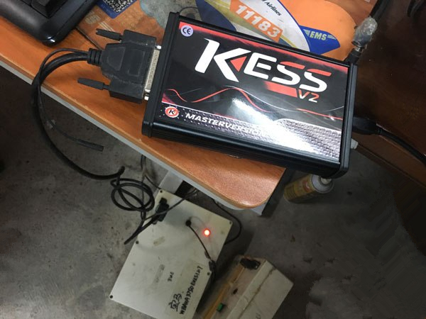 Red PCB KESS 5.017 For BMW