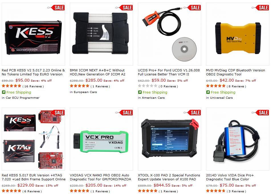 AutoCardiag OBD2 Tool Wholesale E-SHOP
