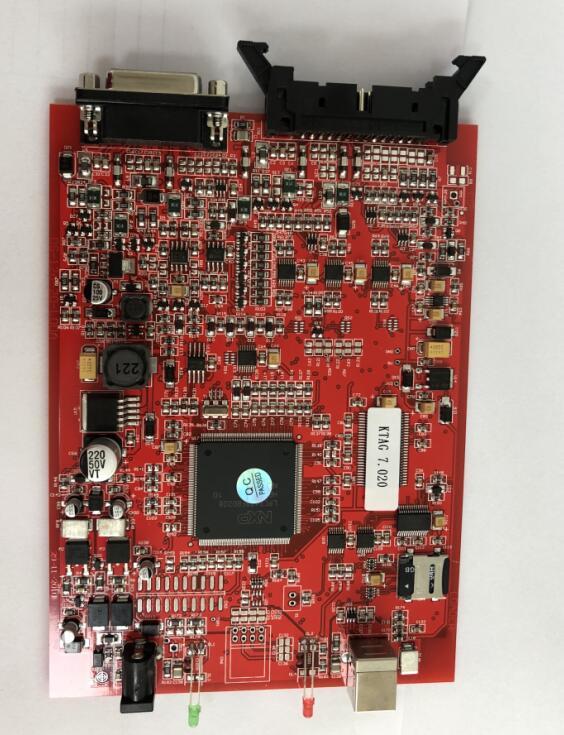 KTAG 7.020 Red PCB