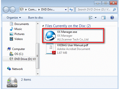 VXDIAG VCX PRO 3 in 1 User Manual