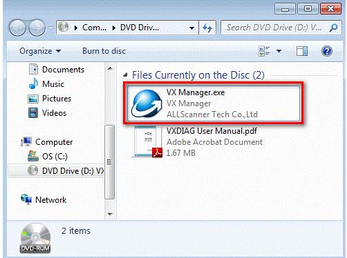 VXDIAG VCX PRO 3 in 1 User Manual