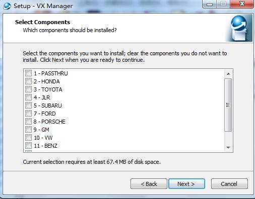 VXDIAG VCX PRO 3 in 1