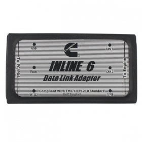 Newest Cummins INLINE 6 Data Link Adapter Insite 7.62 Multi-language Truck Diagnostic Tool