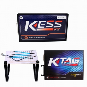 kess 5.017 + ktag 7.020 + led bdm frame