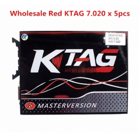Wholesale New Design KTAG 7.020 With GPT Cable 5pcs/Lot