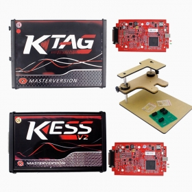 Red KESS 5.017 +KTAG 7.020 +BDM FRAME Support Online No Tokens Limited